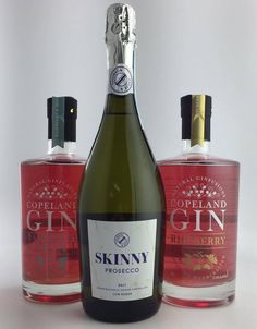 Great combination - Skinny Prosecco with Copeland Fruit Infused Gin