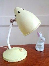 Origineel vintage hala lampje uit de jaren \'50 met sterretjes ...