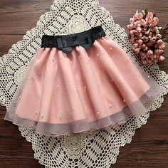 2017 New Women Tutu Pleated Beads Skirts Organza Bow Knot Skirt Sexy High Waist Tulle Skirts Women Skirt Jupe Femme