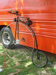 Penny-farthing Vintage Bike