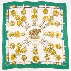 e3aa4fd4993f Apaszka Hermes Paris Guivreries Francoise de la Perriere 1963 Hermes Paris,  Luxury, Ebay,