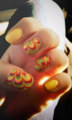 my rasta nails!