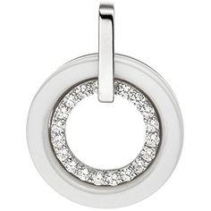Dreambase Damen-Anhänger rhodiniert Silber Keramik 1 Zirk... https://www.amazon.de/dp/B01HC932FG/?m=A37R2BYHN7XPNV