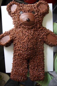 Bear cake from Martha Stewart.