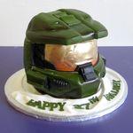 halo birthday cake | Cowboy Themed Birthday Cake - CMNY Cakes