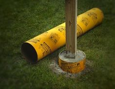 Tubes - Footing Form Tube Base- concrete plant stand | Garden ...
