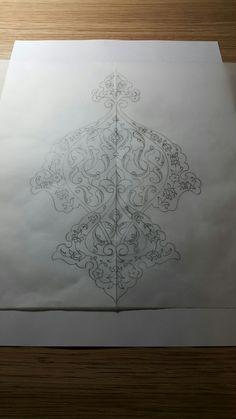 Islamic Designs, Persian Motifs, Turkish Delight, Islamic Art, Pattern Art, Oriental, Ottoman, Floral Design, Mandala