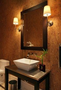 Transitional Asian Bathroom - Herscoe Hajjar Architects - Naples, Florida
