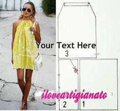 I Love Artigianato: Cartamodelli gratis Sewing Shirts, Paper Models, Sewing Patterns Free, Summer Dresses, Blog, Outfits, Clothes, Fashion, Pattern Sewing