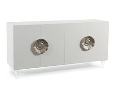 Triesse Four-Door Credenza - Cabinets - Furniture - Our Products