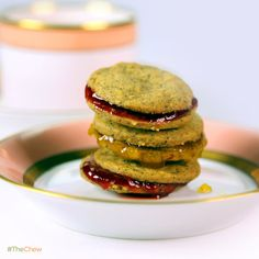 Lemon Citrus Tea Cookies by Carla Hall! #TheChew