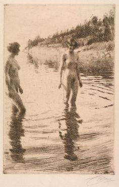 , Anders Zorn, Shallow, 1913