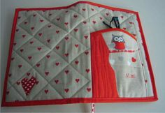 Decorate Notebook, Sewing, Book Covers, Books, Crafts, Tela, Scrappy Quilts, Craft, Placemat