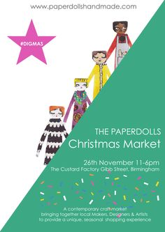 The Paperdolls Christmas Market 2016