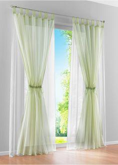 Wonderful Gathering Sheer Curtain Set To Make Your Home Enchanting.