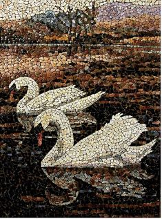 Mosaic, this has inspired me that I can use my own sketches and drawings and can use the mosaic in Photoshop