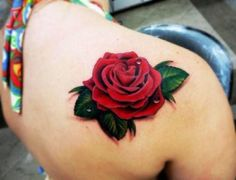 Rose tattoos for women are the latest in-vogue fashion. We cover the most popular rose tattoos for women, their meanings, and examples. Body Art Tattoos, New Tattoos, Girl Tattoos, Tattoos For Guys, Tatoos, Kunst Tattoos, Thigh Tattoos, Mermaid Tattoos, Tattoo Art
