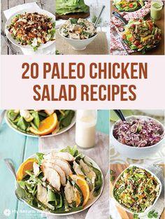 20 Paleo Chicken Salad Recipes