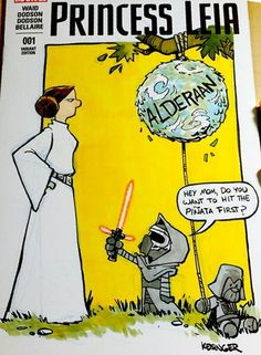 CALVIN & HOBBES and THE FORCE AWAKENS
