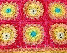 CROCHET PATTERN: teddy bear crochet baby blanket pattern and step-by-step tutorial, Häkelanleitung, baby afghan Pattern Baby, Baby Patterns, Pillow Patterns, Pdf Patterns, Afghan Crochet Patterns, Crochet Chart, Crochet Ideas, Baby Blanket Crochet, Crochet Baby