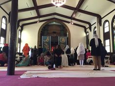 "Keeping the Faith: Inside America's First Women-Only Mosque - - February 24th 2015 - - Reading the Quran in English for the first time was a life-changing experience for Hasna Maznavi.""Many of the things I believed about Islam and about my..."