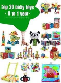 Top 20 Educational Baby Toys (0 -1 year)