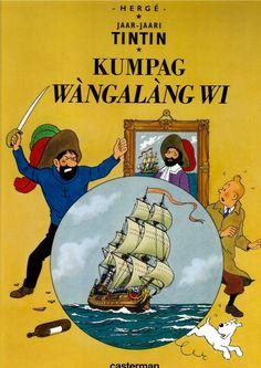 Couverture de Tintin (en langues étrangères) -11Wolof- Kumpag Wàngalàng wi