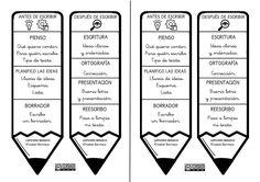 Animation to Creative Reading and Writing for Children and Youth. - Animation to Creative Reading and Writing for Children and Youth. 4th Grade Writing, Kids Writing, Writing A Book, Spanish Classroom, Teaching Spanish, Teachers Corner, Bilingual Education, Classroom Language, Spiritual Messages