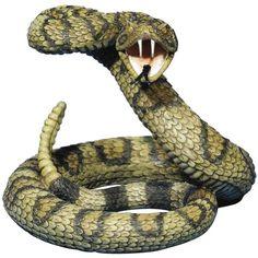 Striking Diamondback Rattlesnake Snake Statue Figurine Pr... http://www.amazon.com/dp/B007RGPDJ8/ref=cm_sw_r_pi_dp_zbxixb1WN161A