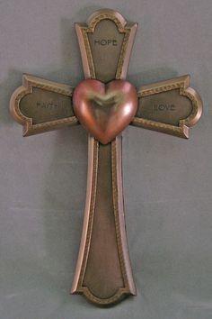Faith, Hope and Love Wall Cross-1 Corinthians 13:13 – Celebrate Faith