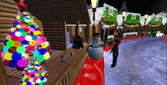 Christmas happenings on OpenSimulator grids. Great article by Maria Korolov (December 21, 2014) Photo credit: Christmas on Craft. (Image courtesy Virtual Christine.)