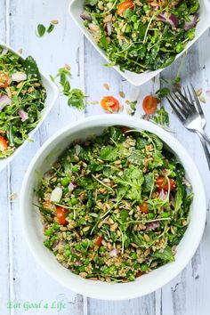 Spring time is just around the corner and making salads with an array of vegetables is what I enjoyed eating more than anything especially for dinner. This Quinoa Kale and pea salad was enjoyed even by kids.