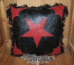 Red Star Pillow - $40