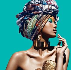 We sell bold African-inspired clothing for the modern woman. African dresses, African Head Wraps, African Pants & Shorts, African Jewelry and many more. Black Girl Magic, Black Girls, Black Women, African Beauty, African Women, African Style, African Girl, Ethno Style, Style Ethnique