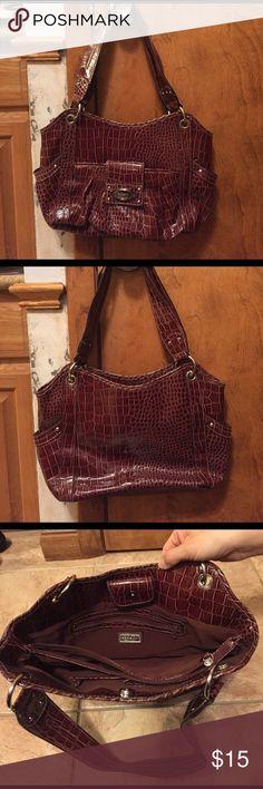 Brown shoulder bag Brown snakeskin shoulder bag Rosetti Bags Shoulder Bags