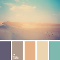 Summer Colors Violet Gray, Muted Browns, Seafoam Greens