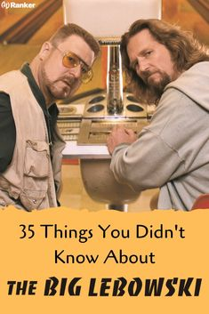 35 things you didn't know about 'The Big Lebowski'! 'The Big Lebowski' is a Coen Brothers cult classic featuring Jeff Bridges as 'The Dude' and John Goodman. Here is a list of Big Lebowski trivia that you should know. Did you know all of these Big Lebowski fun facts? #Jeffbridges #Johngoodman #Coenbrothers #Moviefacts #Rottentomatoes Big Lebowski Quotes, The Big Lebowski, Movie Facts, Fun Facts, Dudeism, Cult Movies, Films, Coen Brothers, Jeff Bridges