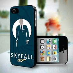 Skyfall James Bond 007 design for iPhone 5 case
