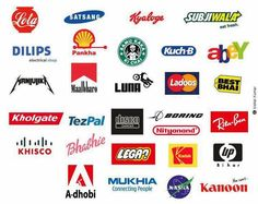 This is hilarious. Brand names under #MakeInIndia project.