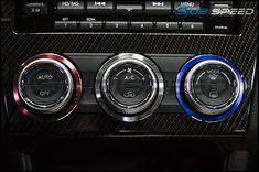 2015-2018 Subaru WRX Dash Display Cover Bezel Trim Panel OEM 15-18