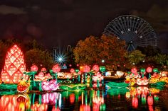 Larry White   Chinese Lantern Festival, Texas