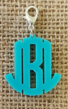 600-002A Interchangeable Oxford Block Monogram Acrylic Pendant – Designs by  SouthernCharm Bff dd2e84d19993