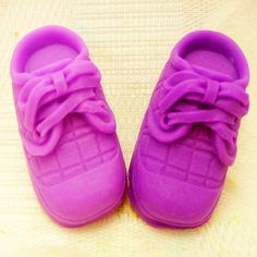 2Baby Shoes Sneaker Soap Mold Flexible by Creativemouldshop