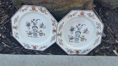 Clearance ...Vintage Two Oriental Plates, ( B )