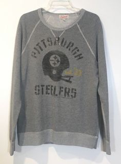 14f02aff3 Pittsburgh Steelers Size XL Junk Food Originals Pullover Crew Neck  Sweatshirt  fashion  clothing  shoes  accessories  womensclothing   activewear (ebay link)