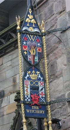 On the Royal Mile in Edinburgh, Scotland