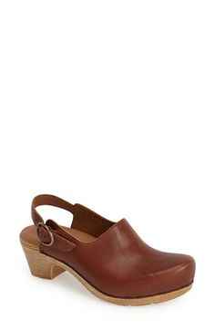 Dansko 'Madison' Leather Clog (Women) available at #Nordstrom
