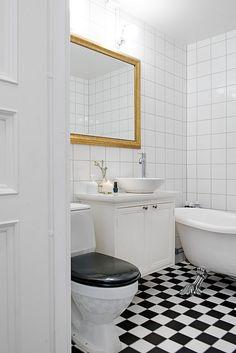 for soon to be kids bathroom Wc Bathroom, Craftsman Bathroom, Bathroom Plans, Bathroom Floor Tiles, Bathroom Inspo, Bathroom Inspiration, Bathroom Ideas, Floor Mirror, Bath Ideas