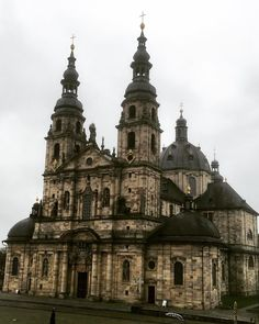 The spectacular #Fulda #Cathedral from the outside. #life #building #architecture #design #religion  #christianity #christian #dom #cross #crucifix #worship #church #travel #tourism #tourist #Germany #Deutschland #IgersFulda #Hesse #Baroque #Catholic #history #culture #Fuldaer #FuldaerDom