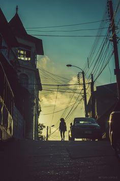 Temática: Atardeceres Porteños & Valparaíso Nocturno.  Fotografía tomada en…